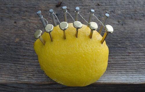Bir Limon ve Birkaç Çiviyle Ateş Nasıl Yakılır?