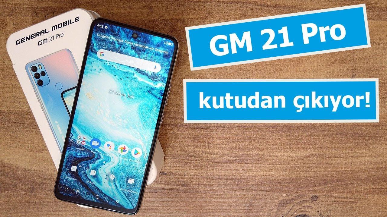 Ön kamerası zoom yapabilen telefon: General Mobile GM21 Pro kutudan çıkıyor