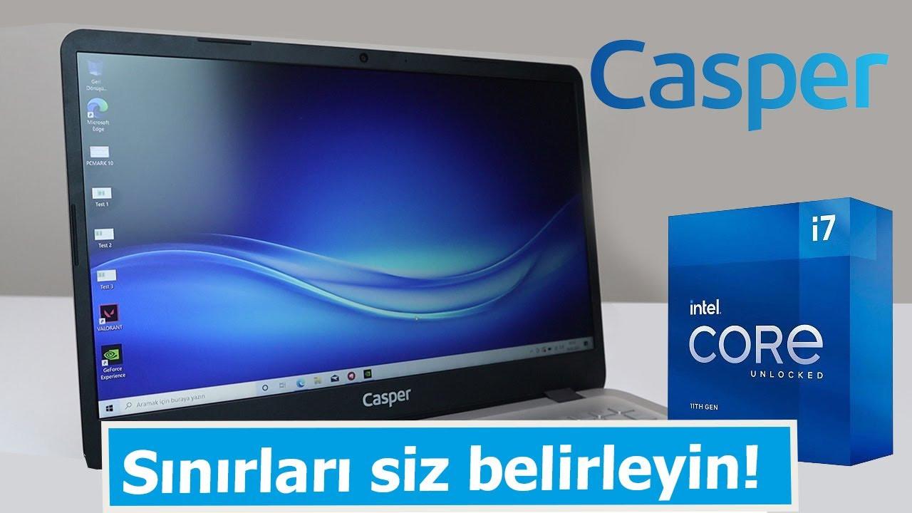 Casper Nirvana S500 inceleme  F/P tarafında rakip tanımayan bilgisayar!
