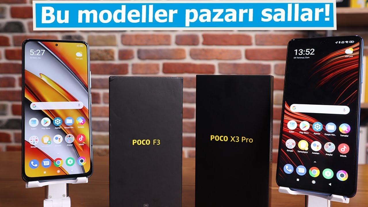 POCO'dan rakiplerine gözdağı! POCO F3 ve POCO X3 Pro standartları değiştiriyor
