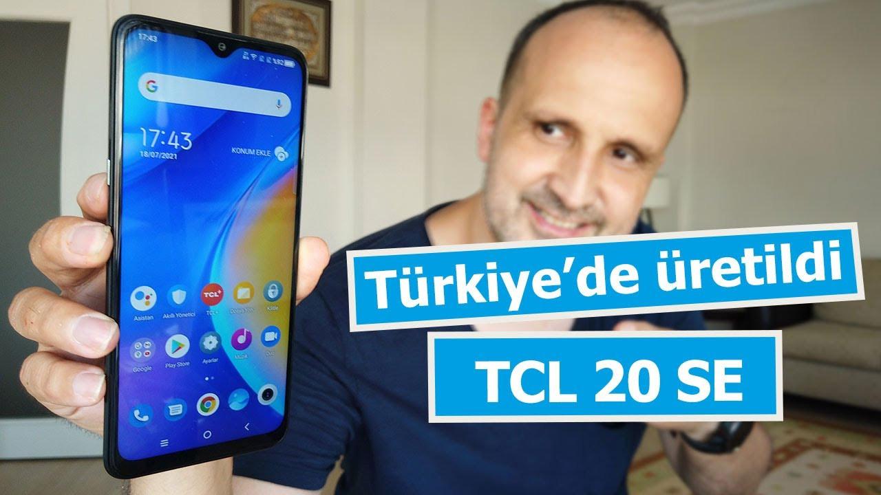 Türkiye'de üretilen ilk TCL: TCL 20 SE inceledik