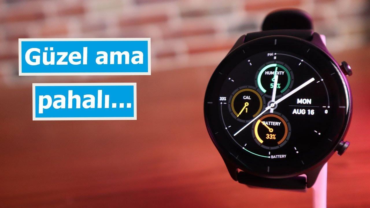 Amazfit GTR 2e | 45 günlük pil ömrü olan saat!