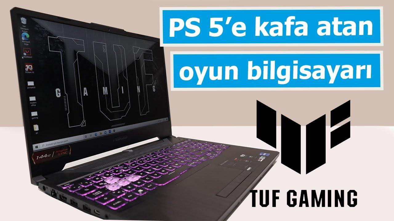 Ekran kartı fiyatına komple bilgisayar! Asus TUF Gaming F15 inceleme