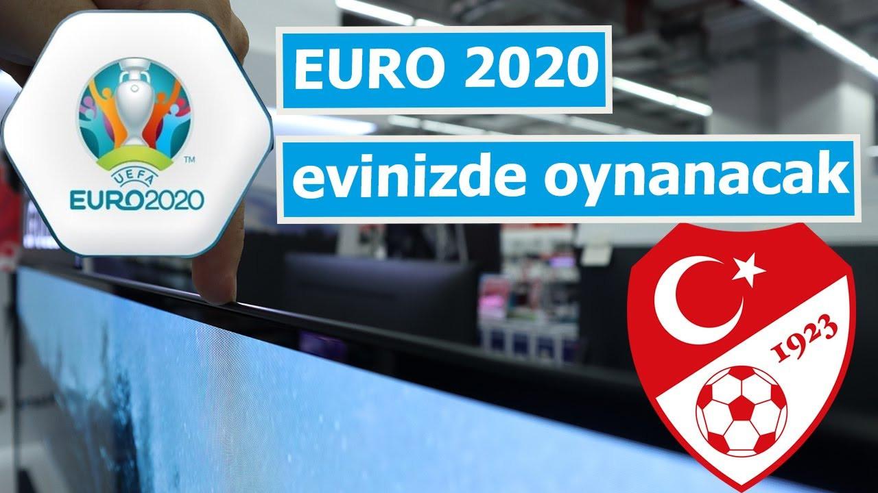 EURO 2020 için 4K TV tavsiyesi! Maçları izlemekle kalmayın yaşayın!