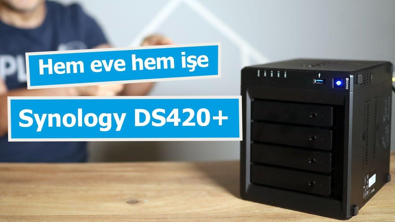 Hem eve hem iş için depolama çözümü: Synology DS420+