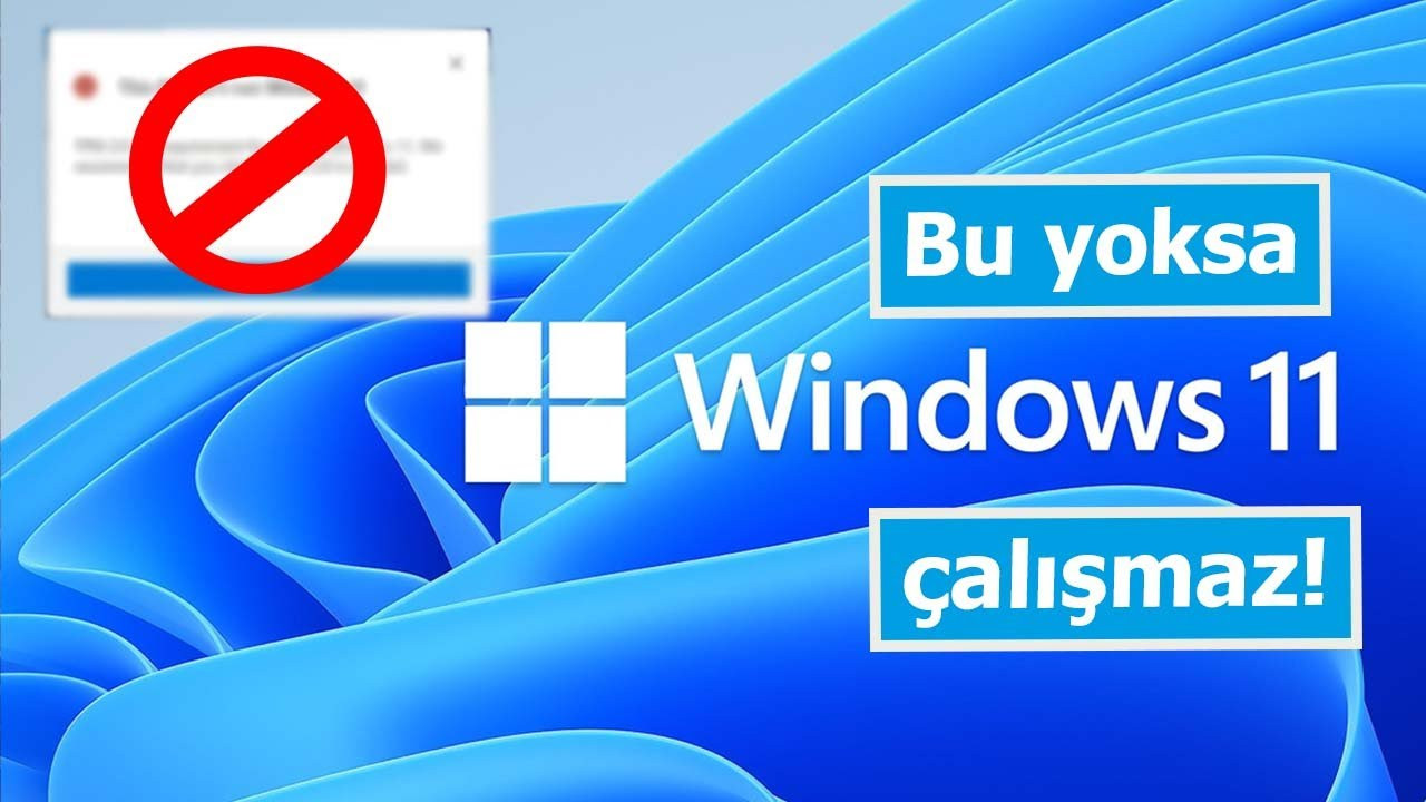 Bu olmazsa Windows 11 kuramazsınız: TPM 2.0