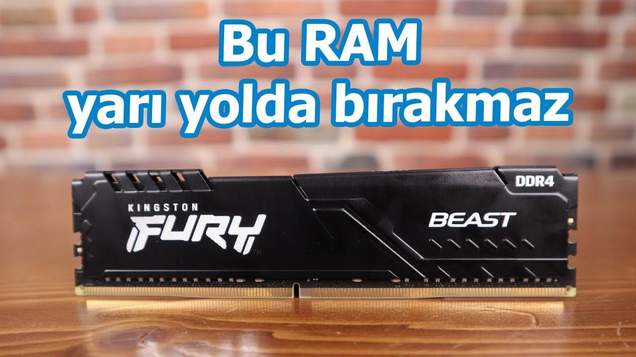 Oyun için RAM arayanlar! Artık aramayın çünkü buldunuz! Kingston Fury Beast inceleme