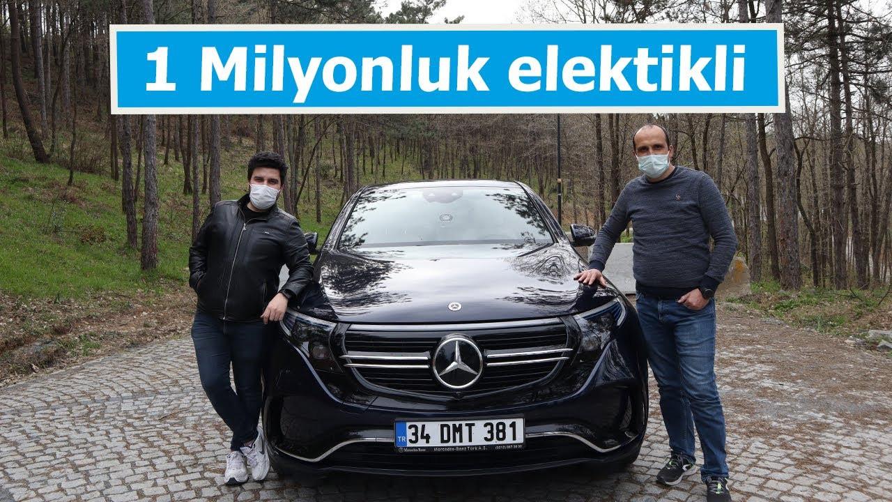 Mercedes EQC test ettik | 1.2 milyon TL'lik elektrikli!