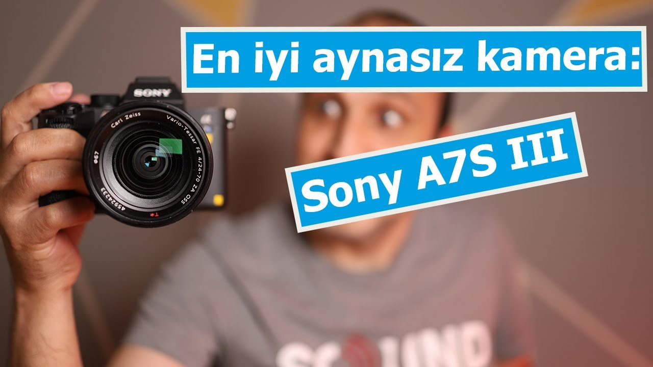 En iyi aynasız fotoğraf makinesi olabilir: Sony A7S III