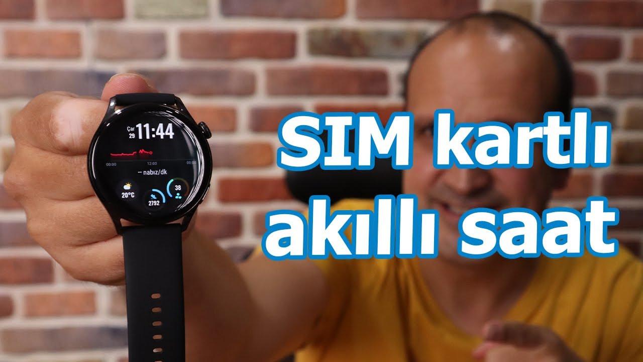 Huawei Watch 3: e-SIM özellikli akıllı saat