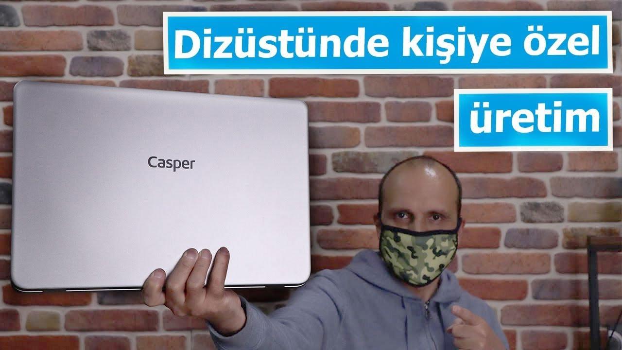 Teknosa'da kişiye özel Casper sipariş ettik | Intel & Casper işbirliği ile #YaratıcılıktaLimitSensin
