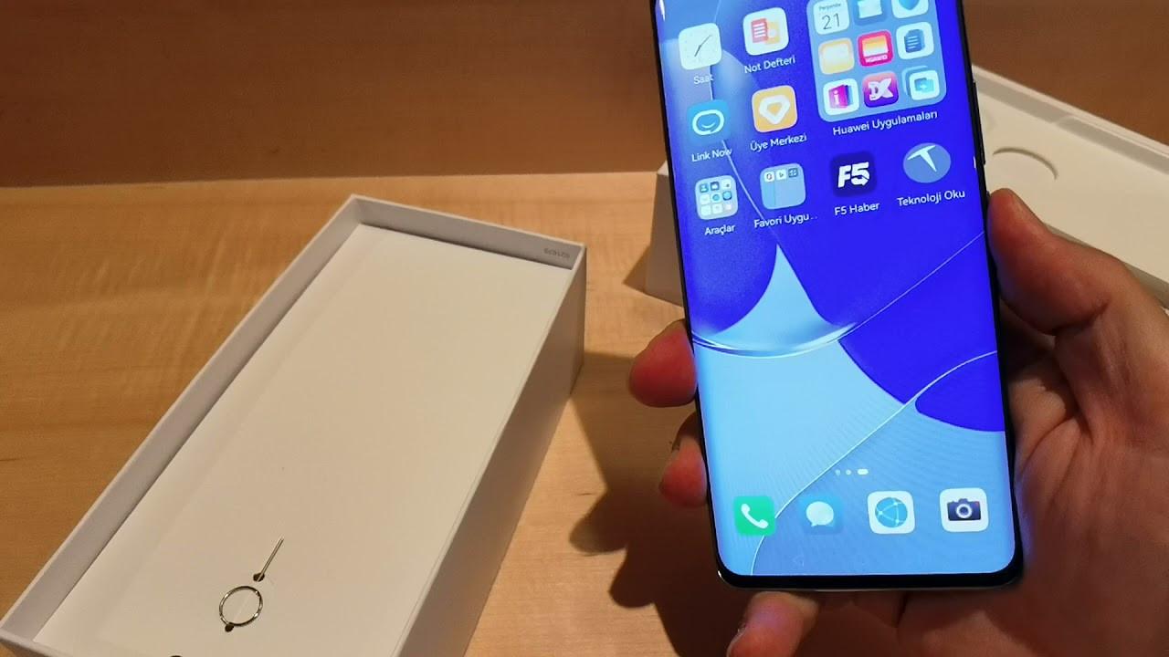 Huawei Nova 9 ilk bakış. Huawei sahalara bomba gibi dönüyor!