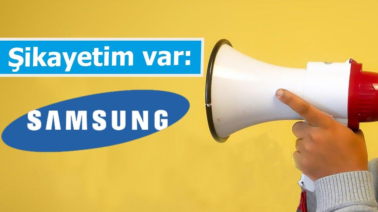 Samsung akıllı telefonlarını tamir etmiyor! Şikayetim Var #7