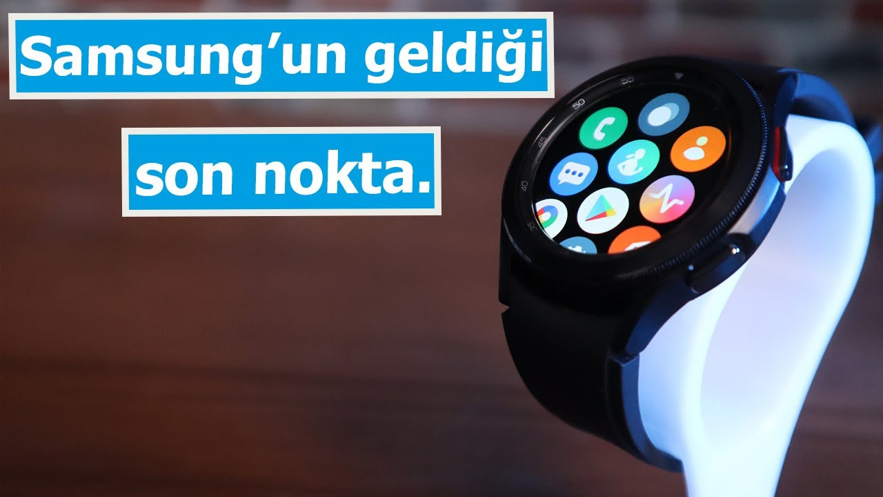 En iyi Android tabanlı akıllı saat? Galaxy Watch 4 Klasik inceleme